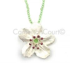 Survivor Tree Callery Pear Single Flower Necklace Michael Michaud 8263