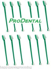 Wholesale Lot 12 Dog Cat Dual End Toothbrushes Toothbrush Dental Mouth Oral Care