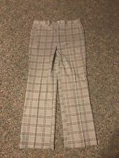 Vintage Mens Hipster Sears Sportswear Plaid Pant 36� Waist 👀