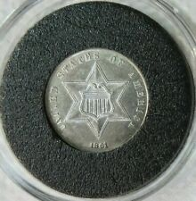 1861 3 Cent Silver Unc.