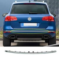 VW Touareg 2014-2018 Rear Bumper Moulding Chrome Insurance Approved High Quality