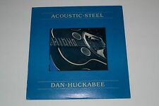 Acoustic Steel Guitar - Dan Huckabee - 1980 Ridge Runner Records - FAST SHIPPING