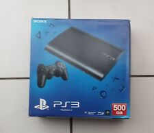 PS3 SUPER SLIM CONSOLE 500GB CHARCOAL BLACK