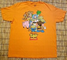 Disney Pixar Toy Story Characters Adult Men's Orange Graphic T Shirt 2X (50/52)