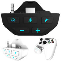 Stereo Headset Adapter -Audio Adapters Headphone Converter For -Xbox One Gamepad