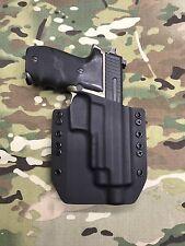 Black Kydex SIG P220R Combat Threaded Barrel Holster