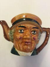 "Toby Mug 5"" Teapot Mbs 443 Figurine With Lid"