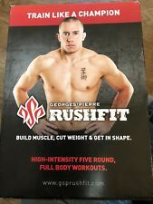 George St. Pierre: Rushfit (DVD, 6-Disc Set) workout exercise fitness fighting