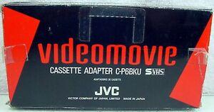 JVC C-P6U VHS-C to VHS Cassette Adapter w/ Instructions   NOS   NEW   $55  