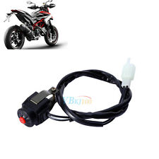 """Motorcycle ATV 22mm 7/8"""" Handlebar Kill Stop Switch Horn Button Universal TP"""