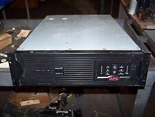 APC 3000 VA SMART-UPS BATTERY BACK-UP POWER SUPPLY SUA3000RMXL3U  120 VAC
