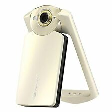 Casio Exilim EX-TR60 EX-TR550 Self-Portrait Digital Camera (Silky White/Gold)