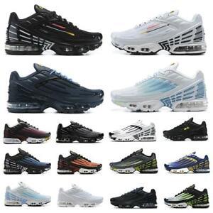 TN Plus 3 running shoes Topography Pack triple white blackmen women trainers