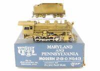 HO Brass PFM - United MA & PA - Maryland & Pennsylvania Modern 2-8-0 No. 43