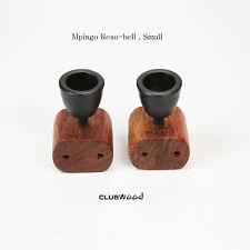 Audio Room Tuning Resonance Bell Small Ebony African Blackwood Mpingo clubWOOD