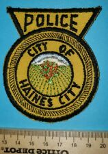 Older City of Haines City Florida Police Patch