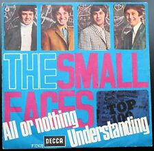 Small Faces All Or Nothing 7, Single Decca - F.12470 Italy 1966 VG+/VG""