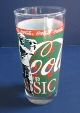 COCA-COLA 14 Oz. Barware Glass Golf Themed