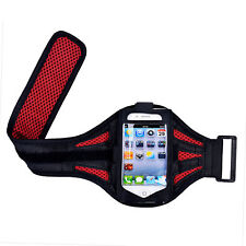 "iPhone 6 4.7"" Red Mesh Running, Jogging, Cycling Armband Mobile Phone Cover Case"