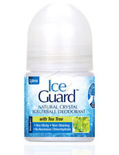 ICE GUARD NATURAL CRYSTAL ROLLER BALL DEODORANT WITH LEMON GRASS 50ML