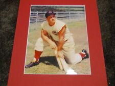 Ted Kluszewski Cincinnati Reds Famous sleeveless matted photo Big Klu