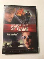 Spy Game (DVD, 2002, Full Frame Collectors Edition) Brad Pitt, Robert Redford