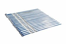 40 x Schaschlikspieße 50 cm Mangal Edelstahl Schampura Grillspieße Fleischspieße