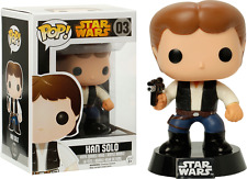 Funko Pop Star Wars Han Solo #03 Vaulted/Retired *Near Mint Condition*