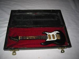 Miniature Guitar In Case