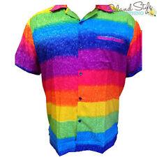 Striped Hawaiian Casual Shirts for Men