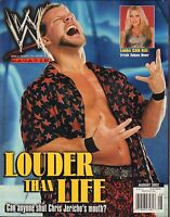 WWE Magazine August 2002 Chris Jericho, Trish VG 032916DBE