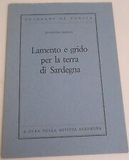 MASALA LAMENTO E GRIDO PER LA TERRA DI SARDEGNA - QUADERNI DI POESIA       2/17