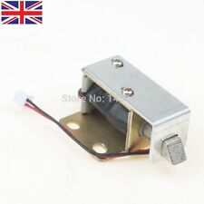 Cabinet Door Electric Lock Assembly Solenoid DC6V 0.35-0.476A Square bevel latch