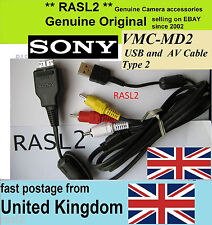 Véritable Sony usb av cable type 2 VMC-MD2 DSC-W290 W210 W215 W220 W230 W275 W270