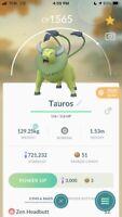Pokémon GO Shiny ✨ Tauros✨ 30 DAYTRADE or REGISTERED - best eBay price!!$$$$🔥