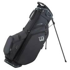 2021 Wilson Feather Stand Bag Black/White New