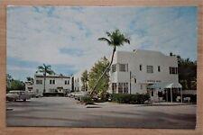 The Surfside Hotel Palm Beach, Florida Motel Advertisement Postcard