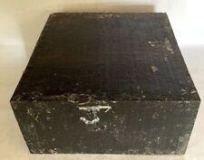 Exact Stripped Gabon Ebony Lumber Lathe Woodturning 6x6x3 Knife Gun Handles J