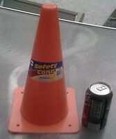 Orange Safety Cone - Stands 12 Inches Tall (Set of 3 )