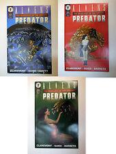 Aliens vs. Predator Deadliest of the Species #1, 2, 3 - Dark Horse Comics - 1993