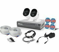 SWANN 4-Channel Full HD 1080p Smart Security System 1TB DVR 2 Cameras Motion