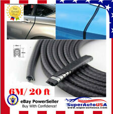 20 feet Car Rubber Seal Trim Molding Strip Door Edge Lock Protector All Weather