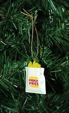 French Fries Miniature Christmas Ornament