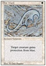 ▼▲▼ 2x Blue Ward (Rune de garde bleue) REVISED  #7 ENGLISH Magic MTG