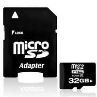 32GB Micro SD Card TF Flash Memory MicroSD MicroSDHC Class 10  with Free Adapter