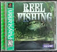 Reel Fishing - Greatest Hits (Sony PlayStation 1, PS1, 1997) Complete Guaranteed