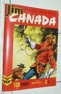 PETIT FORMAT IMPERIA JIM CANADA N°219 1976 SERGENT POLICE MONTEE TUNIQUES ROUGES