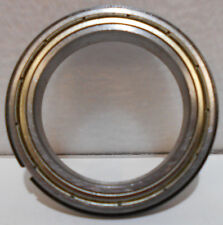 6807Z NR Bearing 35mm x 47mm x 7mm Shielded With Snap Ring  35X47X7