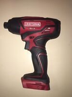 "Craftsman 20v Volt Lithium Ion 1/4"" Impact Driver Bare Tool Only 125.ID20A"