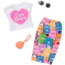 2018 Barbie Care Bear Dresses and Accessories, Set of 3